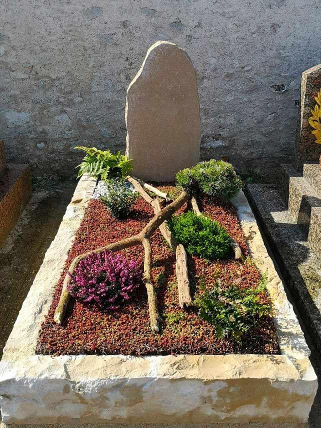 Un lieu-de-recueil végétalisé