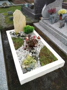 Une sépulture végétale personnalisée