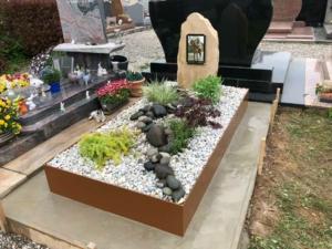 Une sépulture végétale
