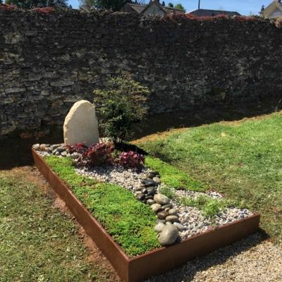 Une tombe paysagère
