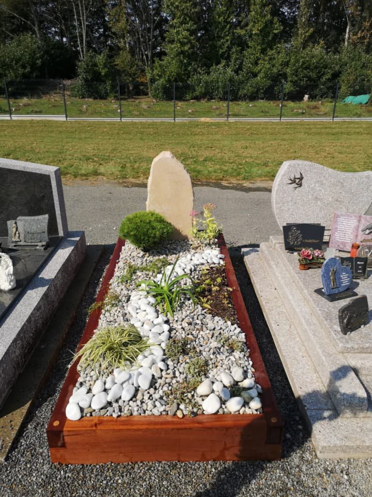 Une tombe funéraire