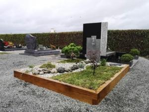 Un monument funéraire végétal