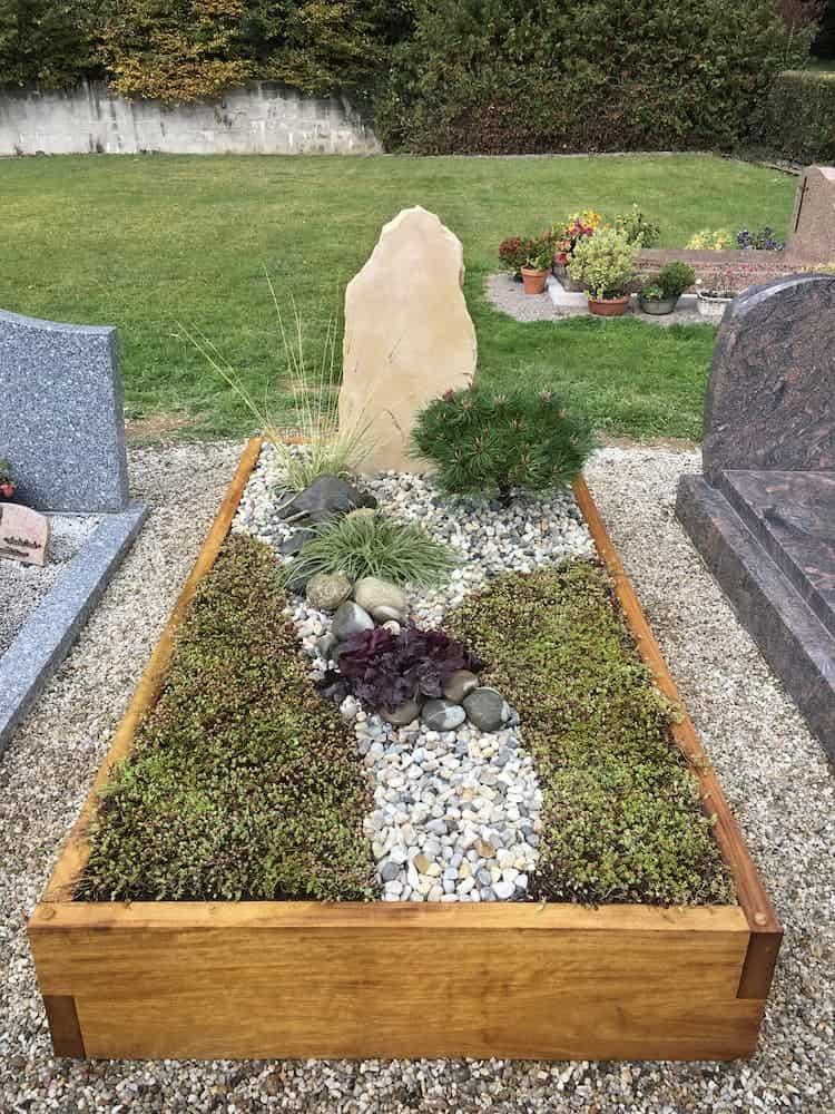 Qu'est-ce qu'un monument funéraire paysager ?