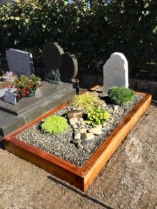 Un monument funéraire naturel
