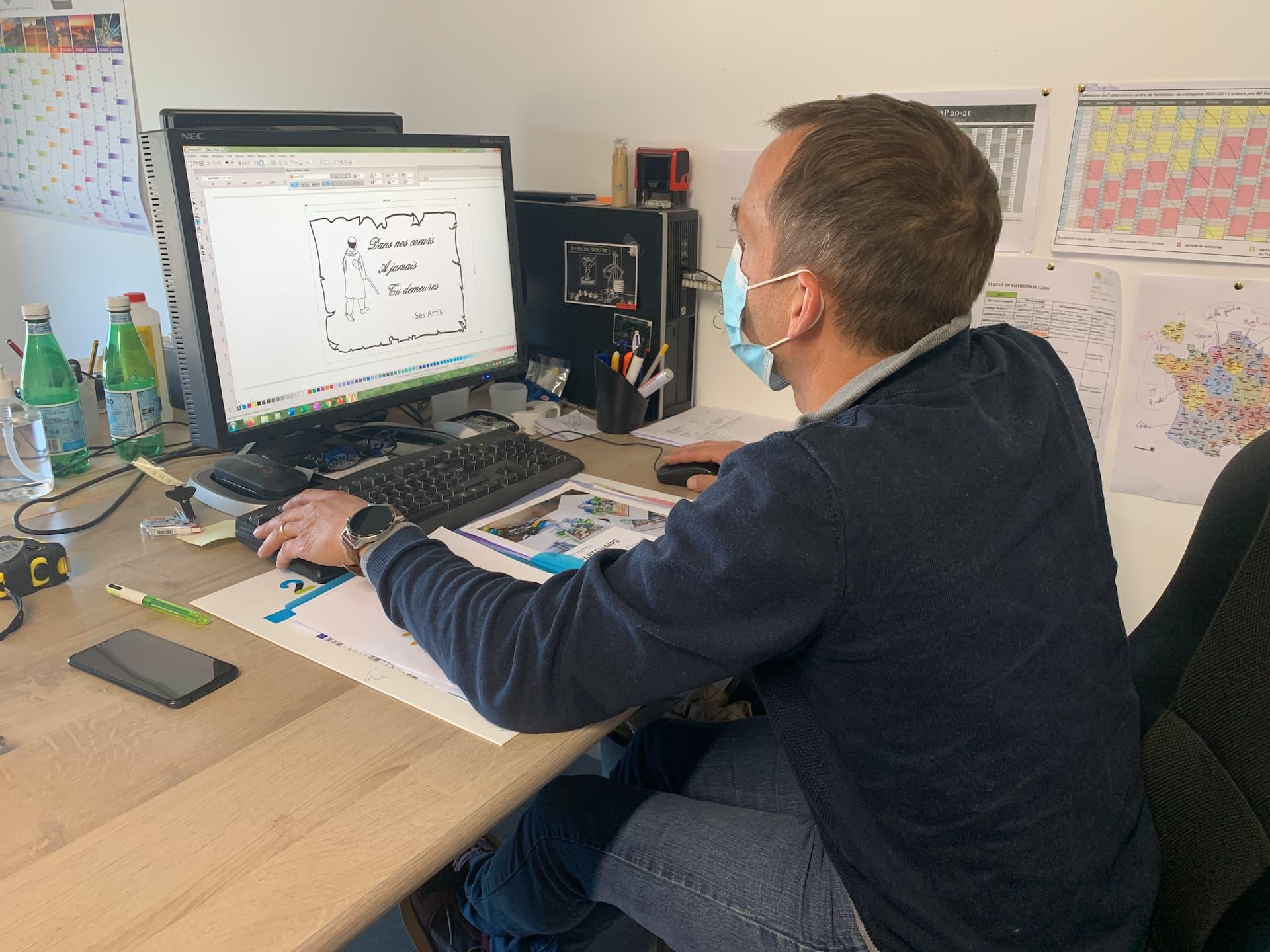 Photo de Julien, coordinateur de travaux chez Infiniflore